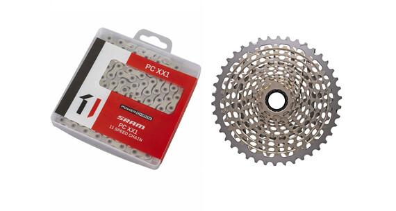 SRAM XX1 XG-1199 Kassette 10-42 Zähne & XX1 Kette 11-fach Bundle